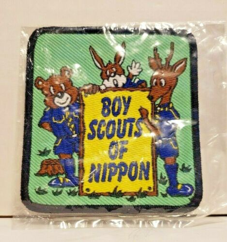 Boy Scouts of Nippon Patch Boy Scouts of America