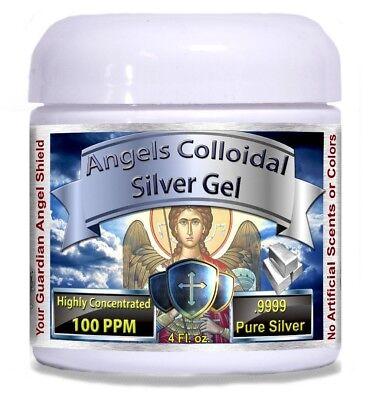 Colloidal Silver Gel 4oz 100ppm BEST