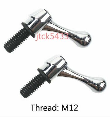 2pc Bridgeport Part Head Milling Machine Table Lock Mill Bolt Handle Thread M12