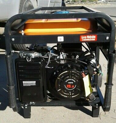 200 Amp Welder Generator Gas Powered 120 -230 V Ac 6000 W 15 Hp