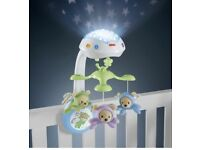 Fisher-Price Butterfly Dreams 3-in-1 Newborn Baby Light