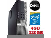 FAST Dell 7010 Intel Core i53.20 3rd Gen 4GB RAM 320GB Window 7 Wifi dvd rw