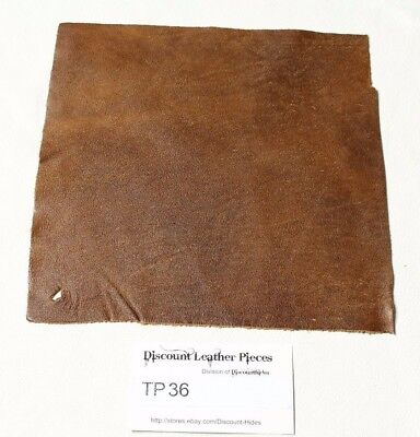 """""""Rhozak Forest"""" Brown Craft Leather Piece Approx. 8"""