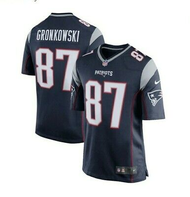 Nike New England Patriots Gronkowski #87 Game Day Home Jersey  2XL