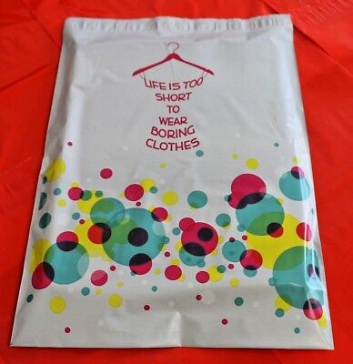 Pick Size Quantity Poly Mailers Bubbly Dress 6x9 7.5x10.5 10x13 12x15