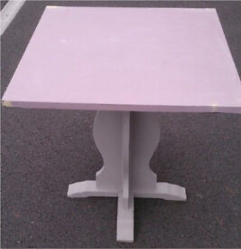 Wooden side / kitchen / dining table ... top required Re-paint / up-cycling