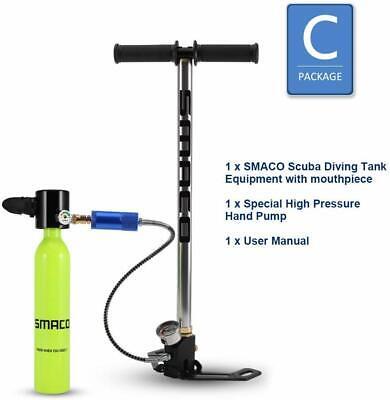 Usado, Smaco Scuba Diving Cylinder Mini Diving Tank Equipment Oxygen Reserve Air S300 C comprar usado  Enviando para Brazil