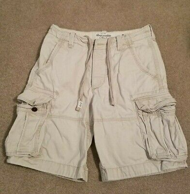 Abercrombie & Fitch Men's Shorts - White