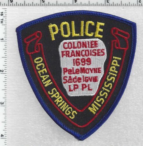 Ocean Springs Police (Mississippi) 4th Issue Shoulder Patch