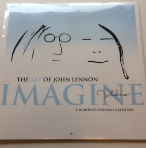 Imagine Calendar by John Lennon [sealed]