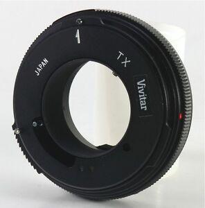 NOS-Vivitar-TX-Lens-Adapter-for-Konica-K-AR-Mount-Mint