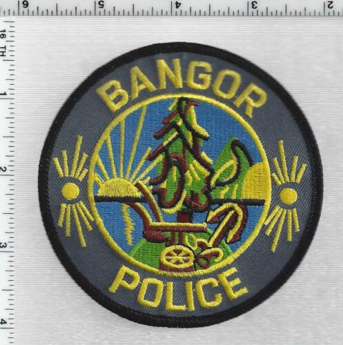 Bangor Police (Maine) 2nd Issue Shoulder Patch