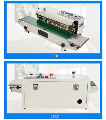 Auto Continous Band Sealer Machine Pvc Pp Heat Sealer 110v Fr-770