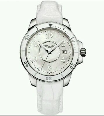 Wa0125 New Genuine Thomas Sabo S S It Girl White Mop Watch On Leather  235