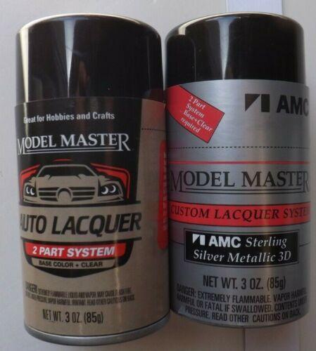 "Testors Model Master 28141 ""STERLING SILVER METALLIC""  3 oz. AUTO LACQUER PAINT"