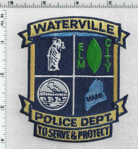 Waterville Police (Maine) 3rd Issue Shoulder Patch