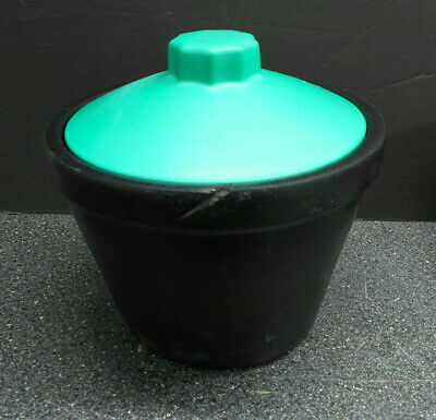 Bel-art Magic Touch Ice Wares Black Polyurethane Foam Insulated Ice Bucket