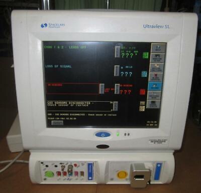 Spacelabs 91369 Ultraview Patient Monitor Spo2 Ecg Ekg Nibp Etco2 Ibp Temp Co