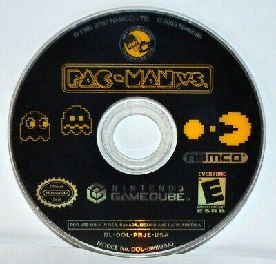 Pac-Man VS. (Nintendo GameCube, 2003) Video Game Disc Only