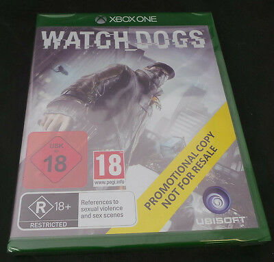 Microsoft Xbox One Game Watch Dogs Brand New Sealed Promo Version