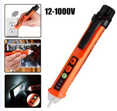 Ac 12v -1000v Voltage Detector Electrical Test Pen Non Contact Electrical Tester