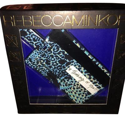 Rebecca Minkoff USB Flash Credit Card Blue Cheetah Gift Boxed Christmas Gift NWT](Cheap Xmas Gift Boxes)