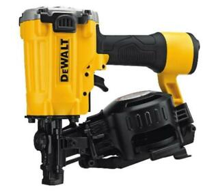 Brand New Sealed box DEWALT Pneumatic 15-Degree Coil Roofing Nailer
