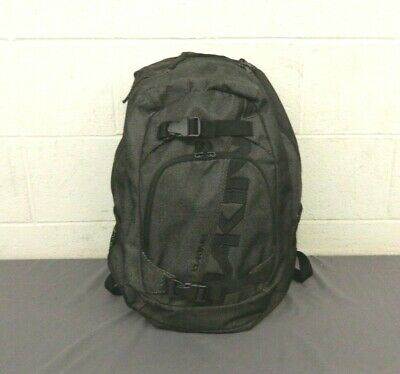 DaKine Explorer 26-Liter Backpack Gray w/Laptop Slot & Skateboard Straps GREAT