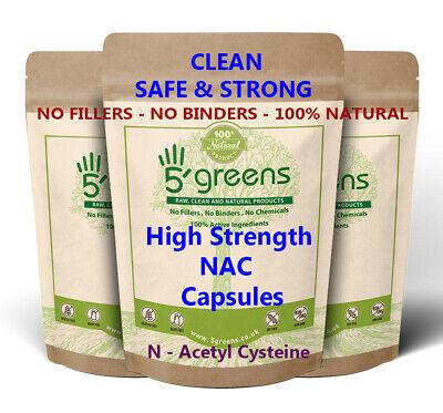NAC N-Acetyl-Cysteine 1000mg Veg Caps - Best NAC Supplement Guaranteed
