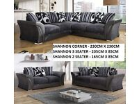 *SALE* FACTORY SEALED BRAND NEW SHANNON CORNER SOFA OR 3+2 SOFAS + many more go thru pics to choose