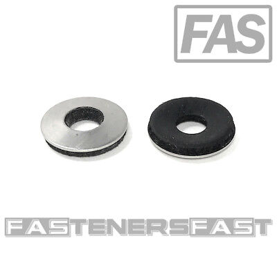 100 516 X 34 Od Stainless Steel Washer Epdm Neoprene Rubber Backed Roofing