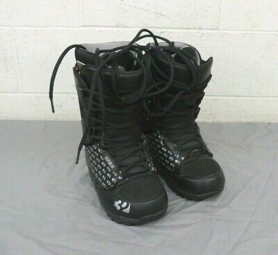 Thirty Two 32 Lashed Black All-Mountain Snowboarding Boots US Women's 7 EU 37.5