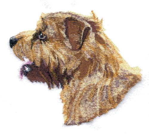Embroidered Short-Sleeved T-Shirt - Norfolk Terrier BT4531 Sizes S - XXL