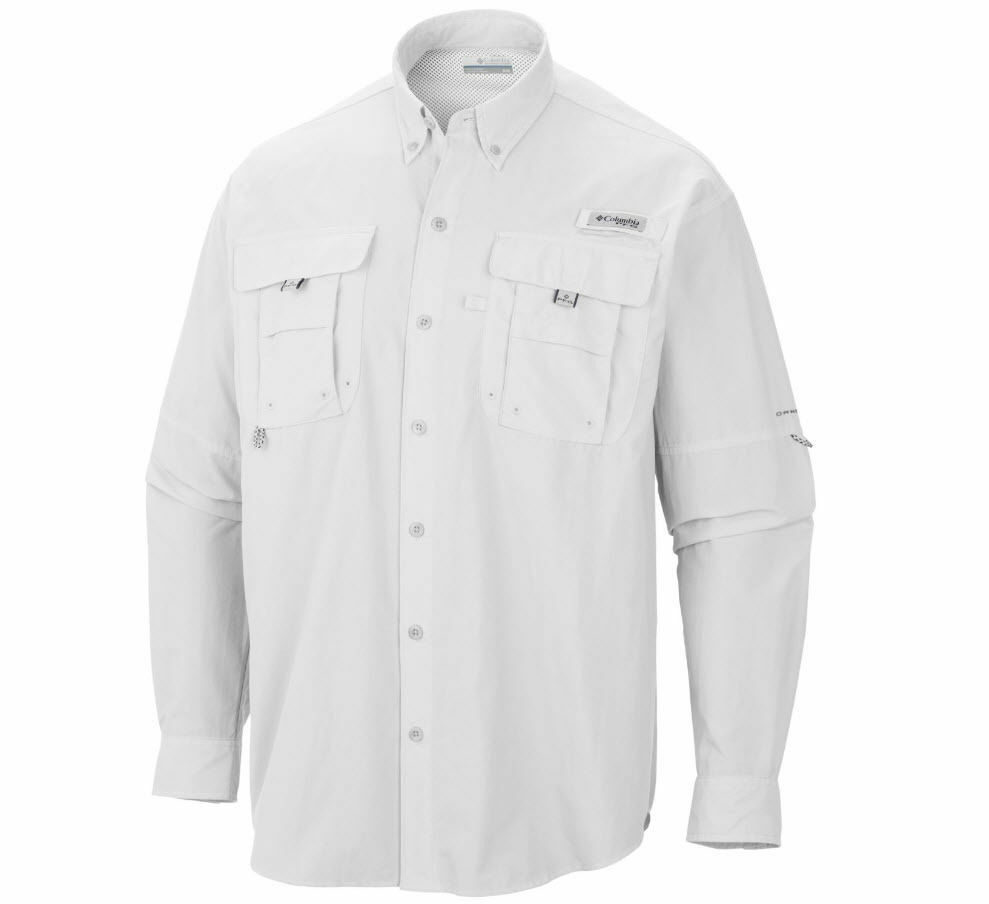 e1f3f7ae649 Columbia Men's BAHAMA II Long Sleeve Fishing Shirt, Sizes S-2XL, 3XL, 7048