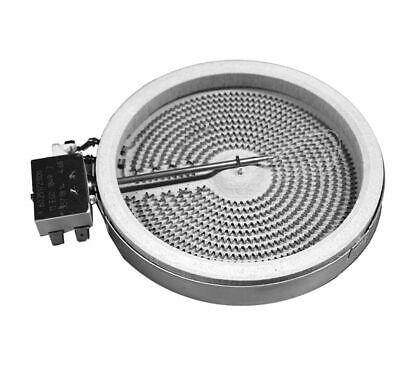 Placa eléctrica universal vitrocerámica 1200W. Resistencias Hornos
