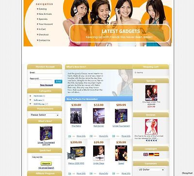 Premium Ecommerce Online Gadgets Shop Store Shopping Cart Website