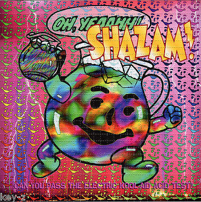 Signed by Zane Kesey ELECTRIC KOOL-AID BLOTTER ART PSYCHEDELIC LSD Acid paper