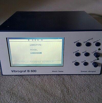 Greiner Vibrograf B600 mit Mikrofon
