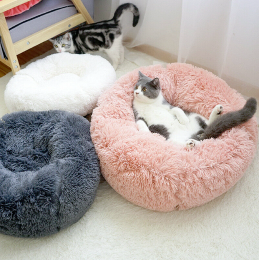 Marshmallow Small Xx Large Cat Dog Pet Super Soft Calming Bed 40 To 100cm Ebay
