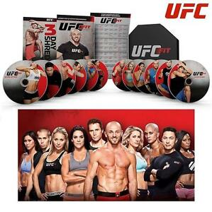 NEW UFC FIT WORKOUT DVD - 114437509 - ULTIMATE WEIGHT LOSS EXERCISE VIDEO