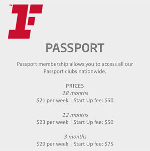 Fitness first passport membership Sydney City Inner Sydney Preview