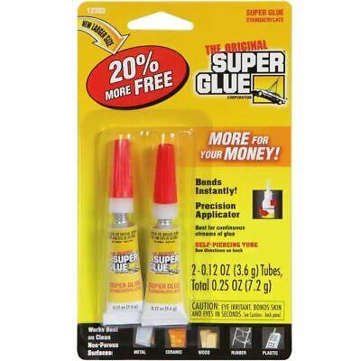 Original Super Glue Co. Sgm22-12 0.12oz 2 Pack