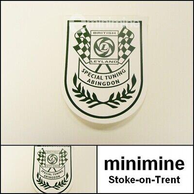 Classic Mini Leyland Special Tuning Shield Sticker austin morris clubman gt ST