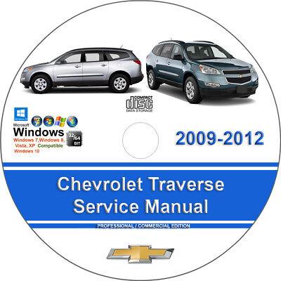 Chevrolet Traverse 2009 2010 2011 2012 Factory Workshop Service Repair Manual
