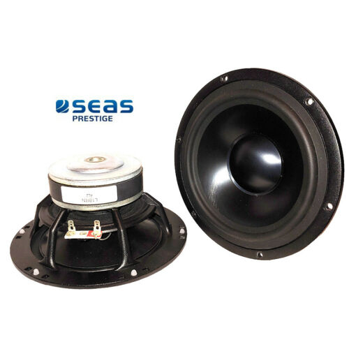 "NEW Pair of High End Seas 6.5"" Aluminum Cone 4Ω woofers"