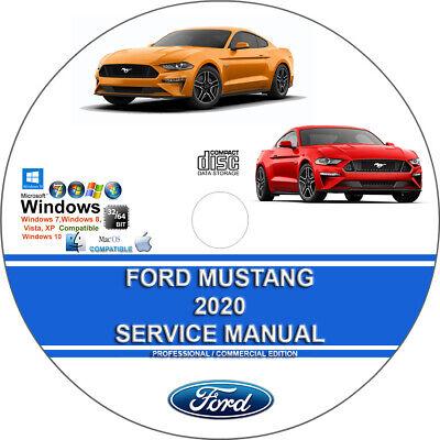 Ford Mustang 2020 Factory Workshop Service Repair Manual on CD
