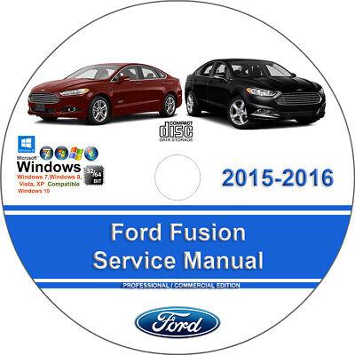 Ford Fusion 2015 2016 Factory Workshop Service Repair Manual