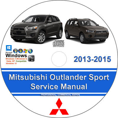 Mitsubishi Outlander Sport 2013 2014 2015 Factory Workshop Service Repair Manual