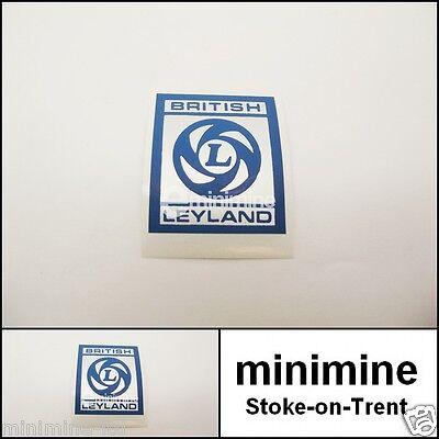 Classic Mini British Leyland Rocker Cover Sticker x1 Decal clubman metro austin