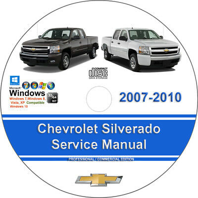 Chevrolet Silverado 2007 2008 2009 2010 Factory Workshop Service Repair Manual